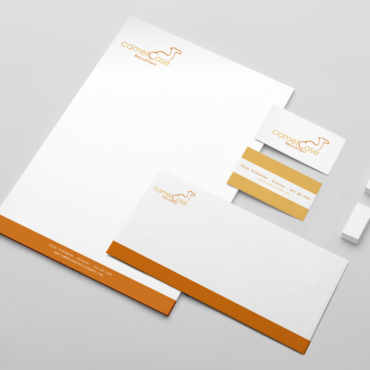 Stationery Mockup Template - CamelCase Recruitement